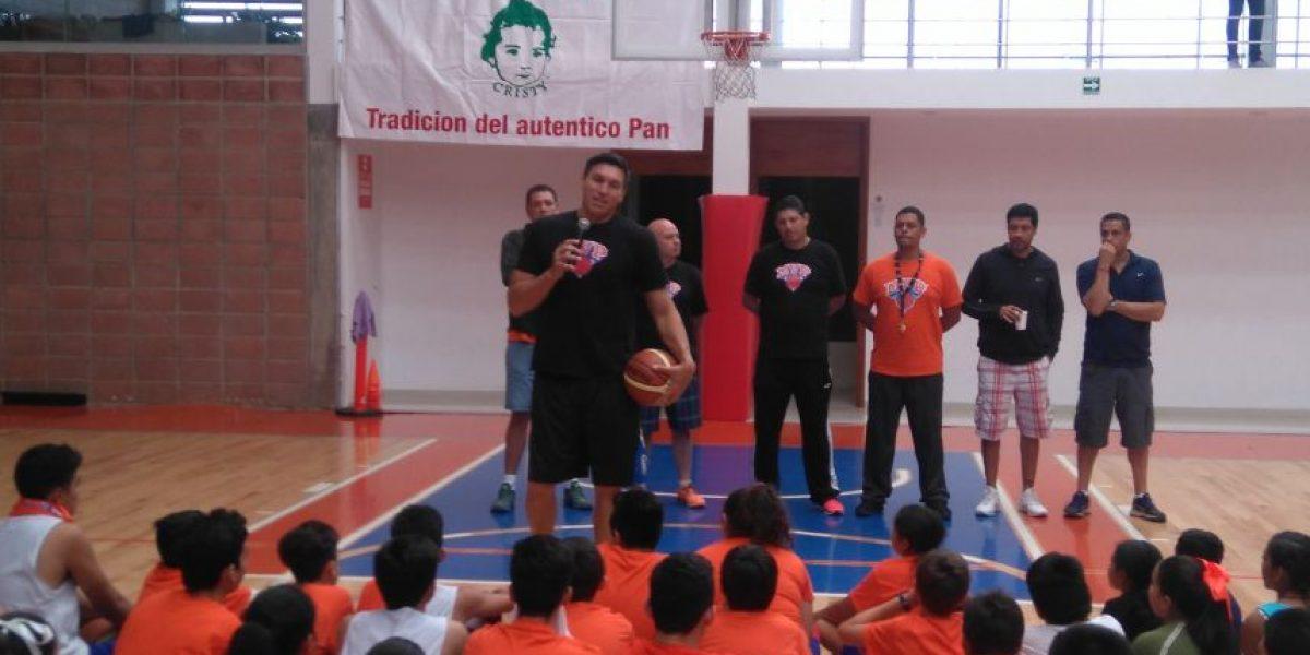 Eduardo Nájera, orgulloso embajador de NBA en México