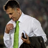 Juan Carlos Osorio seguirá que seguirá con sus rotaciones en el Tri Foto:Getty Images