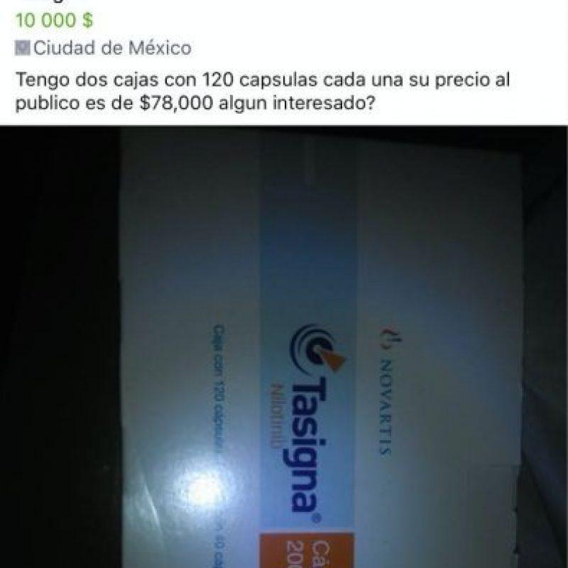 Es ilegal vender medicamentos por internet Foto:Especial