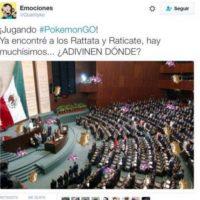 Por supuesto, en el Congreso (y no solo mexicano). Foto:vía Twitter