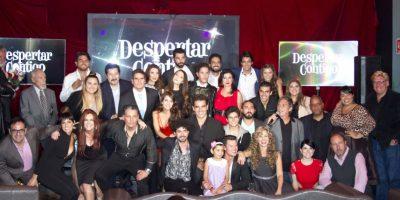 """Presentación de la telenovela """"Despertar contigo"""" Foto:JDS"""