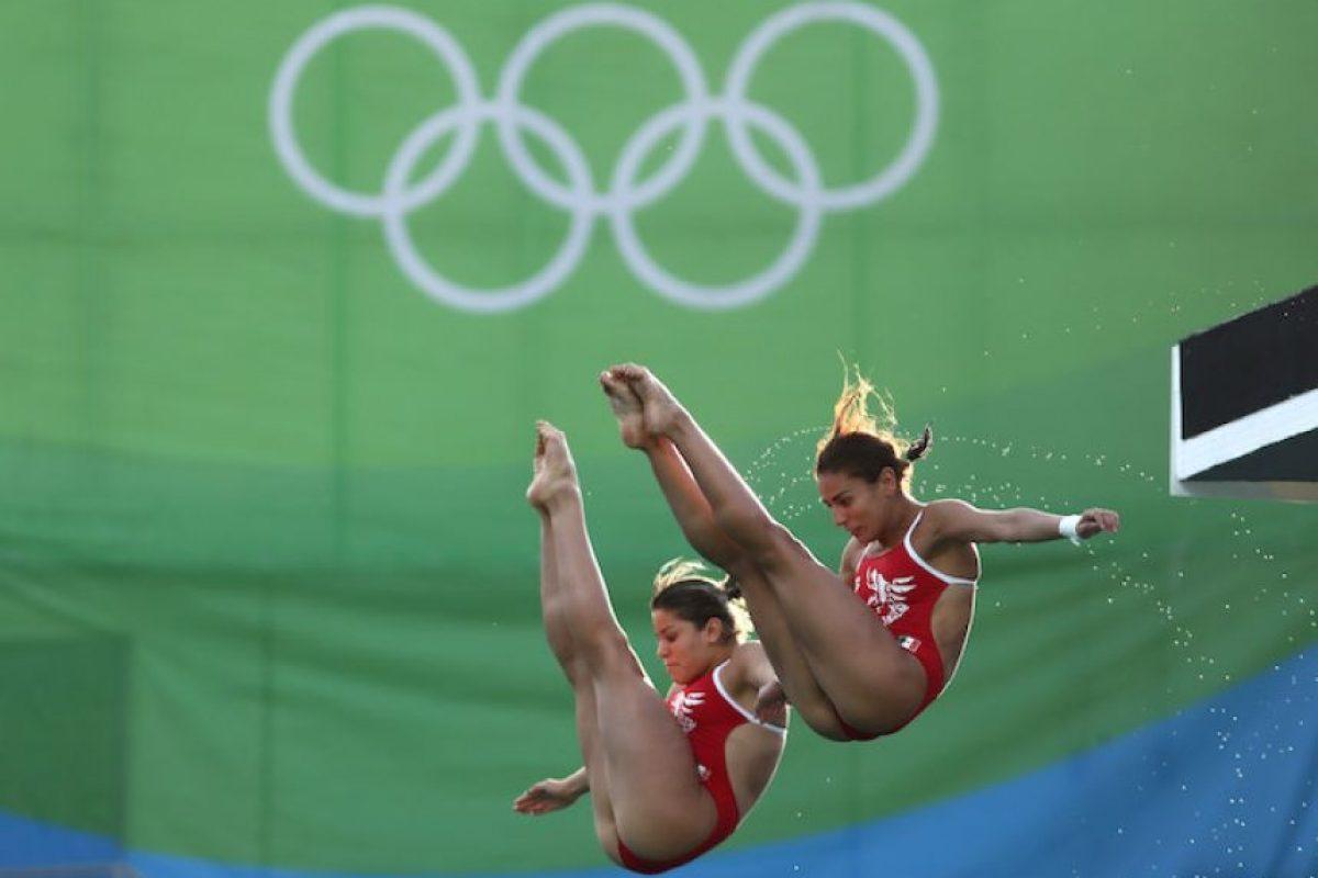 Alejandra Orozco y Paola Espinosa. Foto:Getty Images