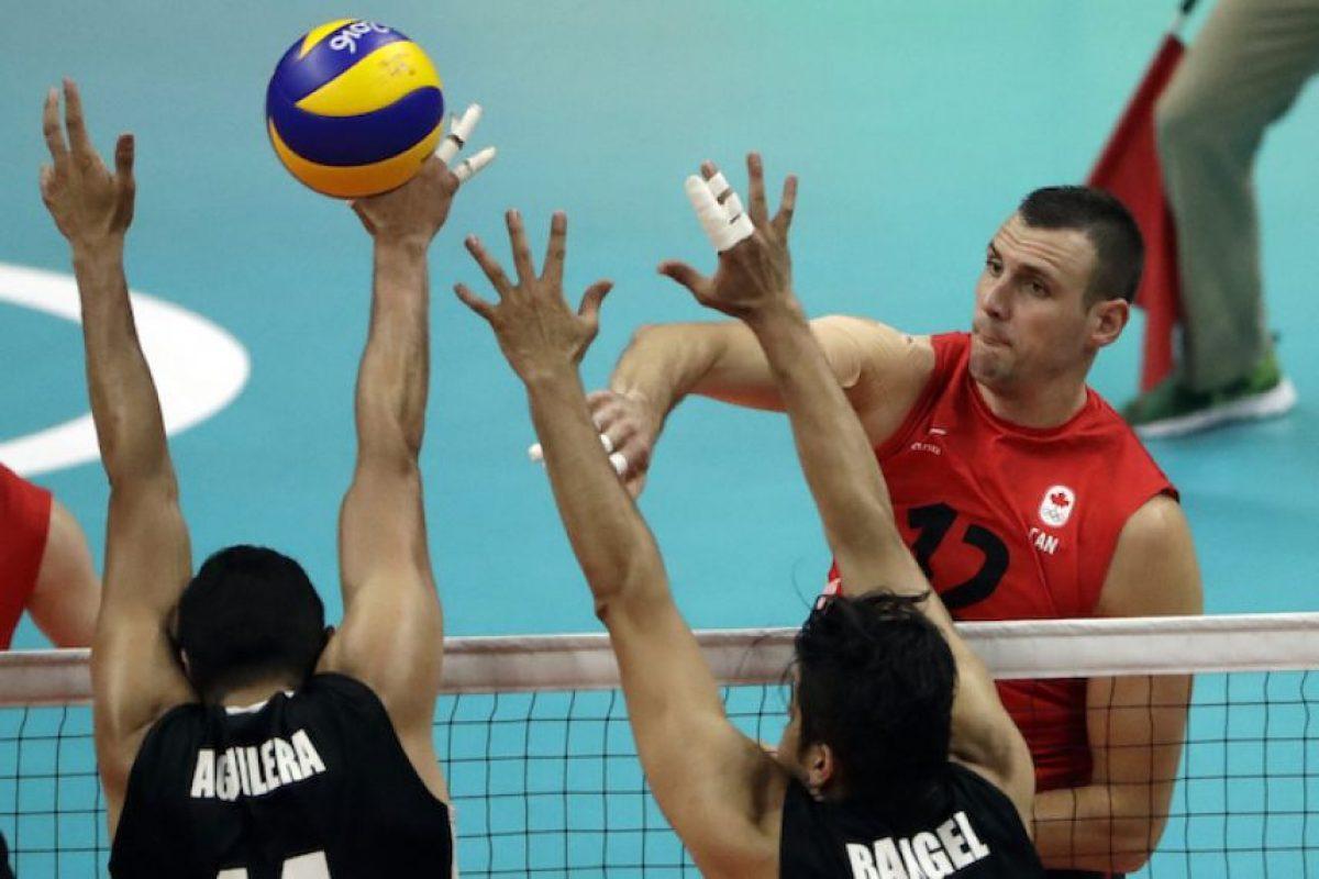 Selección Mexicana de Voleibol. Foto:AP