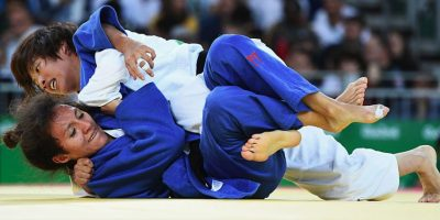 Edna Carrillo queda fuera de Río en judo Foto:Getty Images