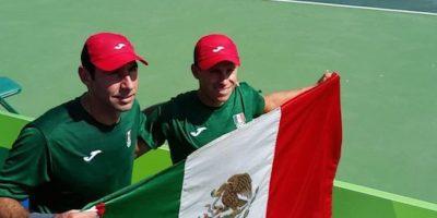 Santiago González y Miguel Reyes-Varela. Foto:Twitter