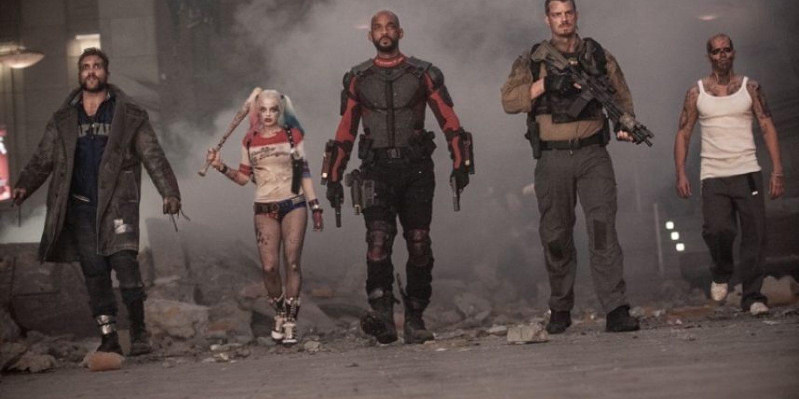 """""""Escuadrón suicida"""" protagonizada por Will Smith, Margot Robbie, Cara Delevingne, entre otros, se estrenó el 5 de agosto a nivel mundial. Foto:Warner Bros"""