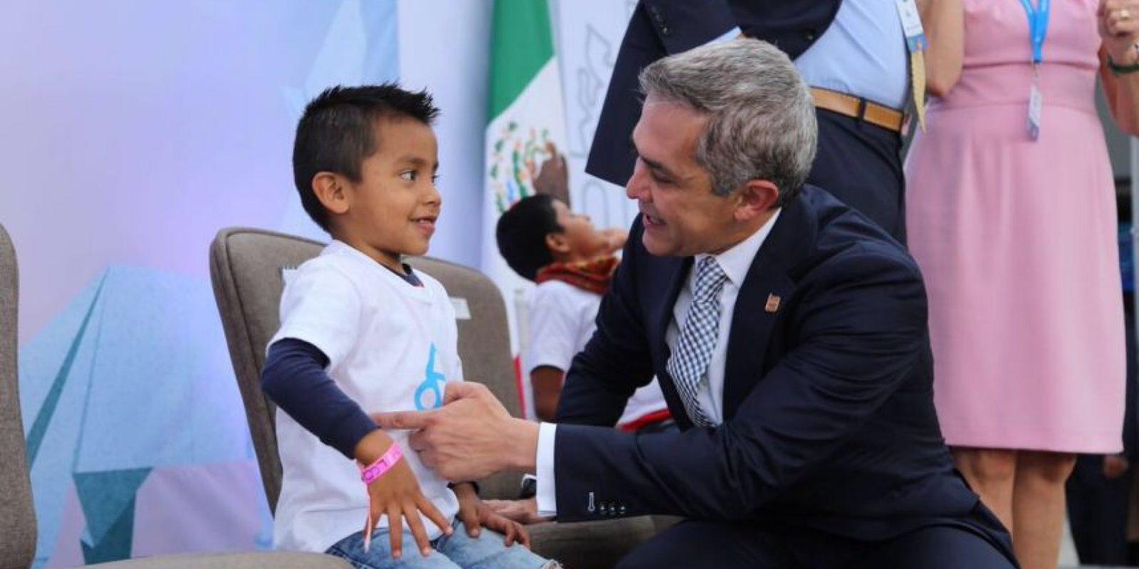 El Jefe de Gobierno de la Ciudad de México, Miguel Ángel Mancera, encabezó la reapertura del Museo del Papalote Foto:@ManceraMiguelMX