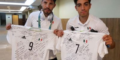 Oribe y Pizarro se mostraron resignados tras su baja del Tri. Foto:Twitter: @miseleccionmx