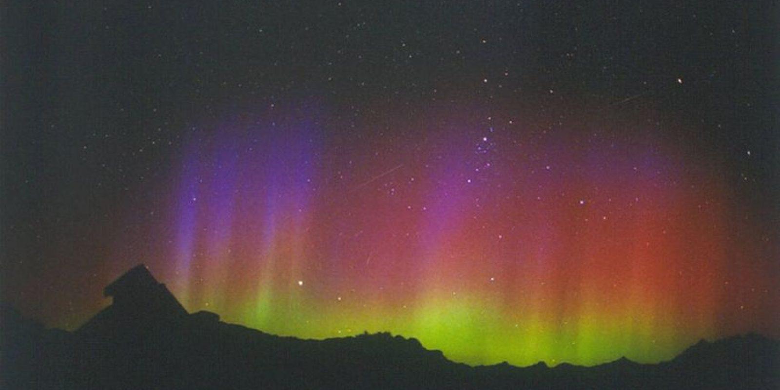 Los meteorólogos predicen un estallido de Perseidas este año con tasas normales en la noche del 11 al 12 de agosto. Foto:NASA