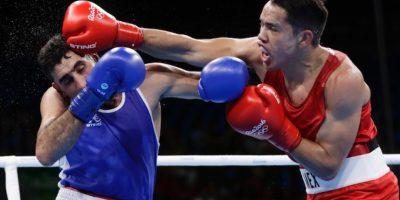 El mexicano Misael Rodríguez avanzó a los octavos de final en box dentro de los Juegos Olímpicos Foto:AP