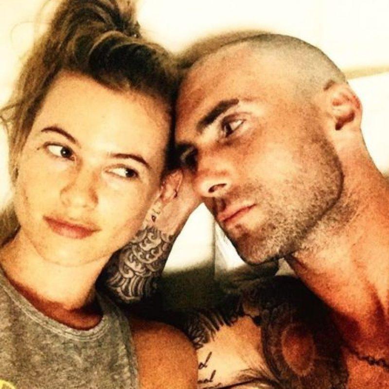 Adam muestra lo ilusionado que está con su bebé documentando el proceso de su esposa en Instagram Foto:Istagram/@adamlevine