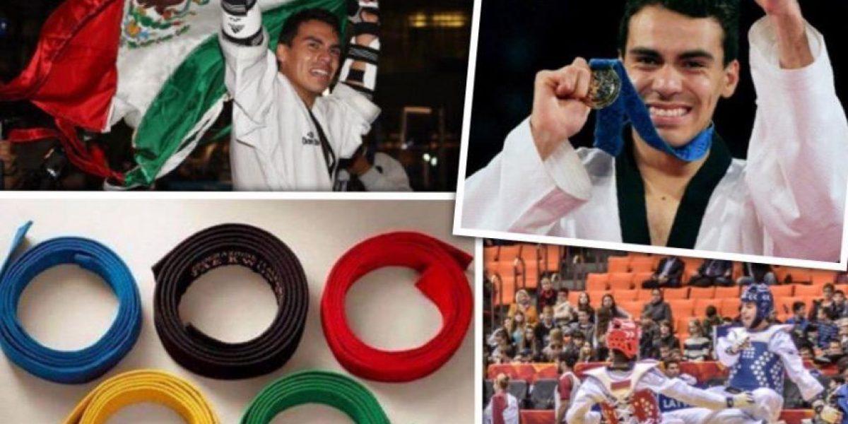 Taekwondoín mexicano se enoja con los que exigen medallas: