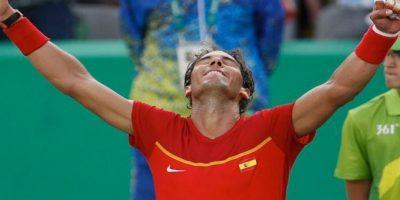 Rafa Nadal venció 6-3 y 6-3 al italiano Andreas Seppi y esta en octavos de final Foto:Getty Images