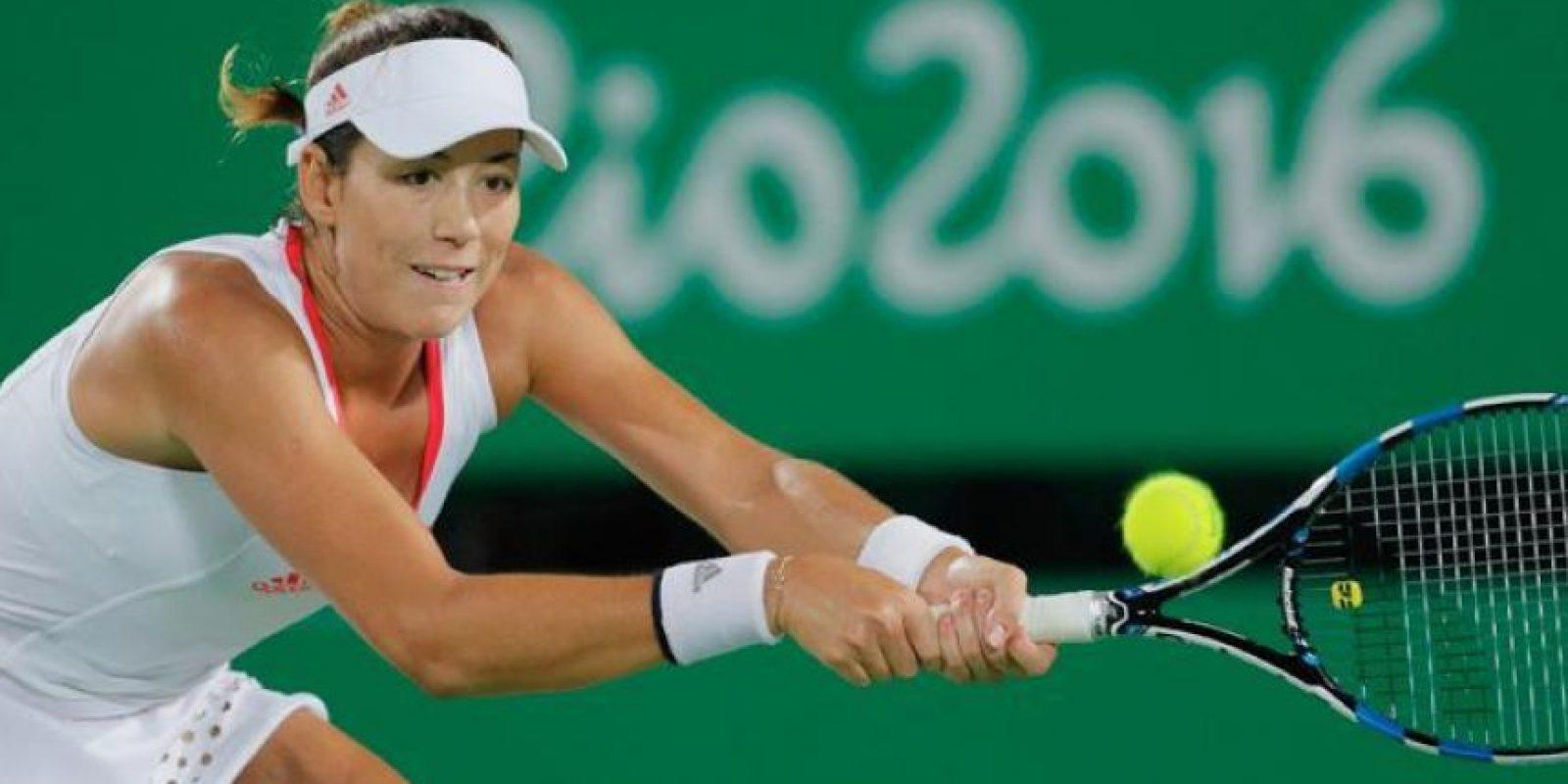 La española Garbiñe Muguruza fue eliminada en la tercera ronda por la puertorriqueña Mónica Puig, con un doble 6-1 Foto:Getty Images