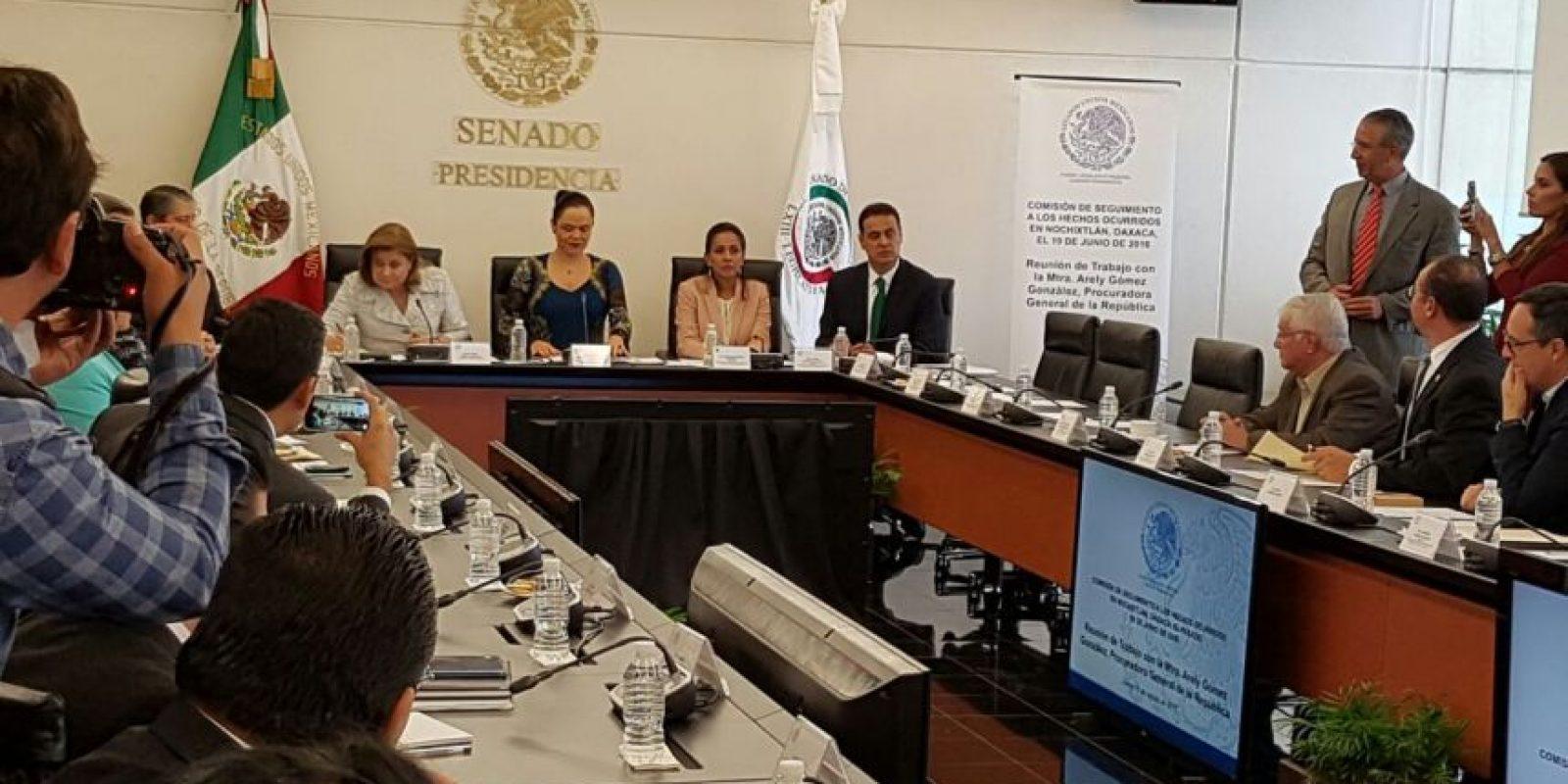 La procuradora dará avances sobre la investigación del caso Nochixtlán Foto:Ignacio Gómez
