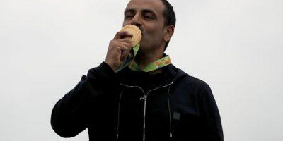 Fehaid Aldeehani, atleta de Kuwait Foto:Getty Images