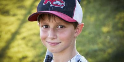 Caleb Schwab solo tenía 10 años Foto:AP