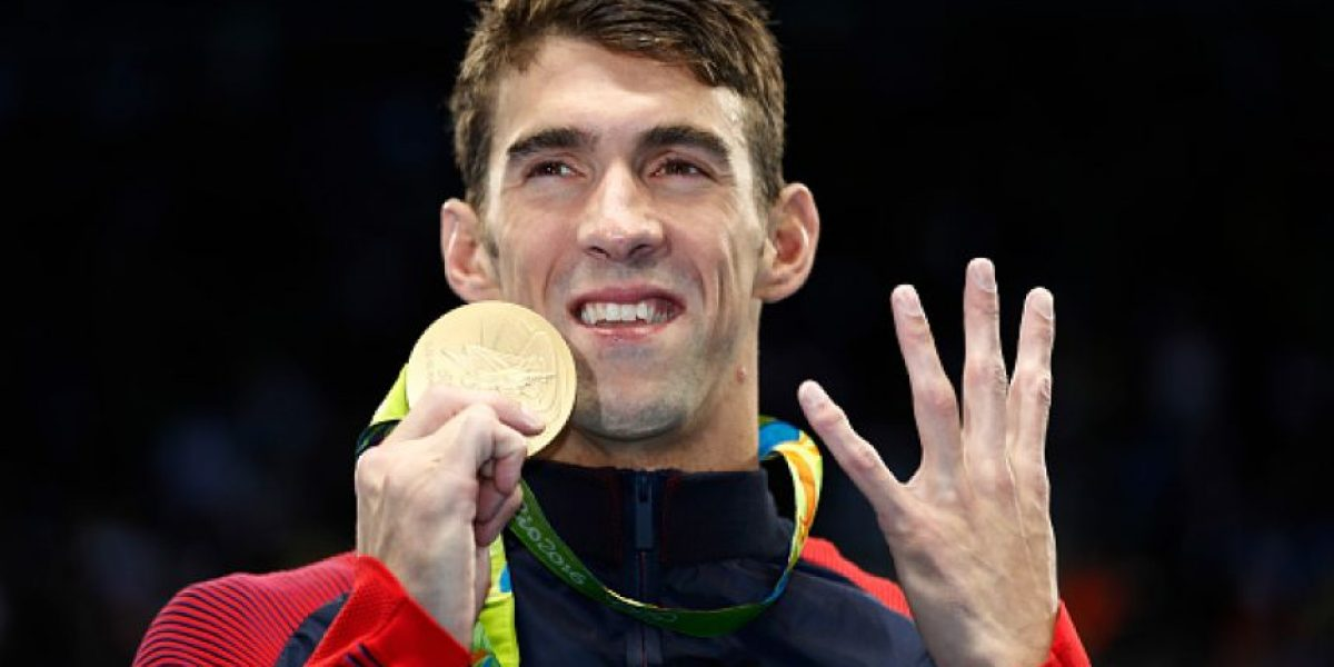 Michael Phelps es un
