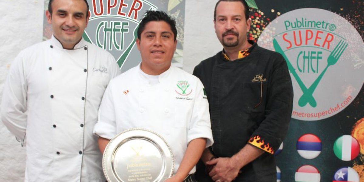 Él es el nuevo Publimetro Super Chef