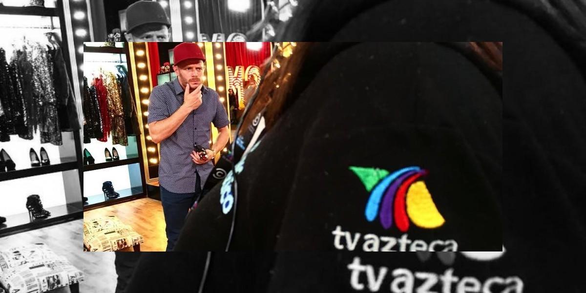 Por esta razón Facundo visitó las instalaciones de TV Azteca