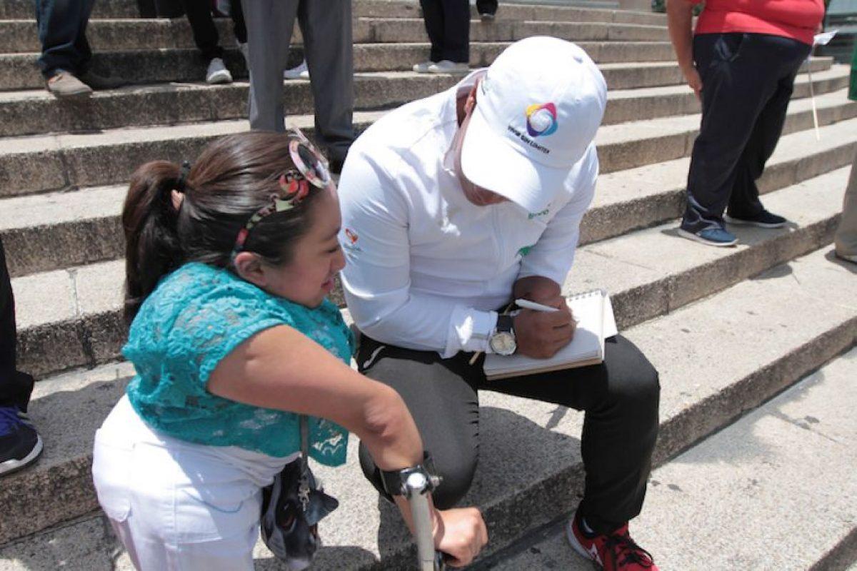 Equipo Paralímpico mexicano se toma foto y se despide para viajar a Río 2016 Foto:Notimex