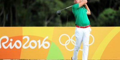 Rodolfo Cazaubón, golfista mexicano que no lleva viáticos, ha hecho un buen papel en Río Foto:Getty Images