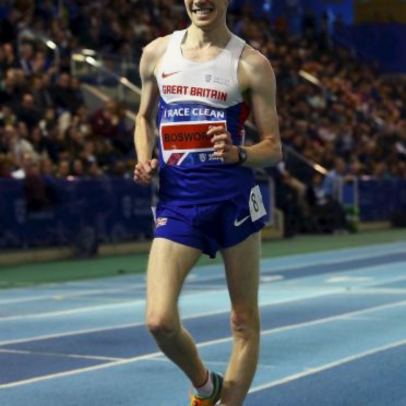Tom fiinalizó en el sexto puesto de los 20 kilómetros de marcha Foto:Getty Images