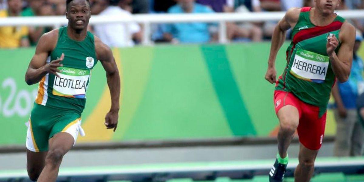José Carlos Herrera, el mexicano que resta importancia a competir junto a Bolt