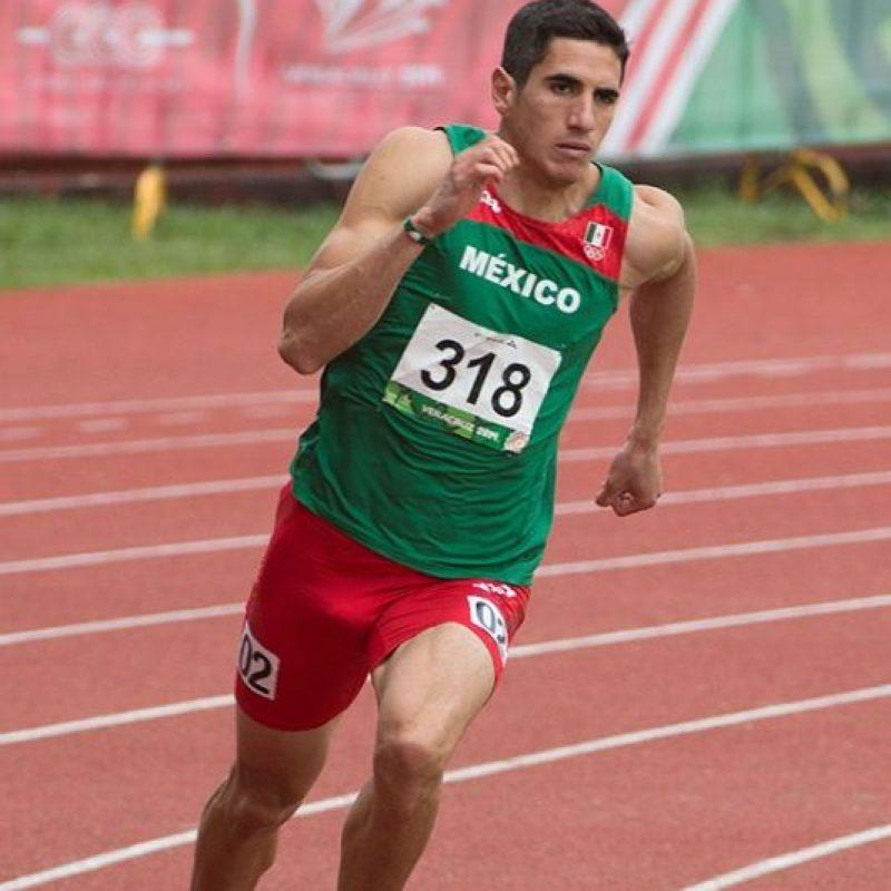 José Carlos Herrera, el mexicano que podría competir con Usain Bolt en la semifinal de los 200 metros Foto:Twitter