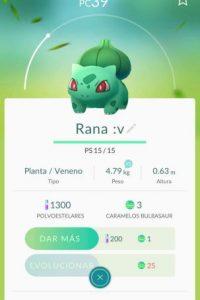 Cambien el nombre. Foto:Pokémon Go