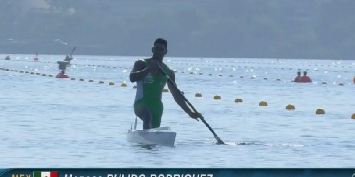 Canoísta mexicano Marcos Pulido avanza a semifinales en Río 2016