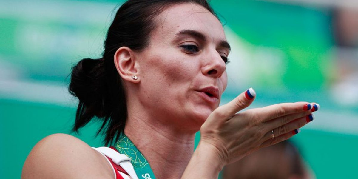 FOTOS: Yelena Isinbayeva sí está en los Juegos Olímpicos de Río