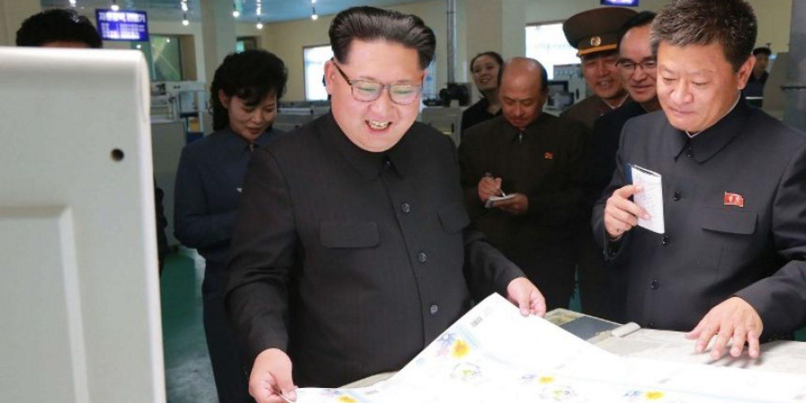 El gobierno de Kim Jong-un hizo la recomendación a través de medios estatales Foto:AFP