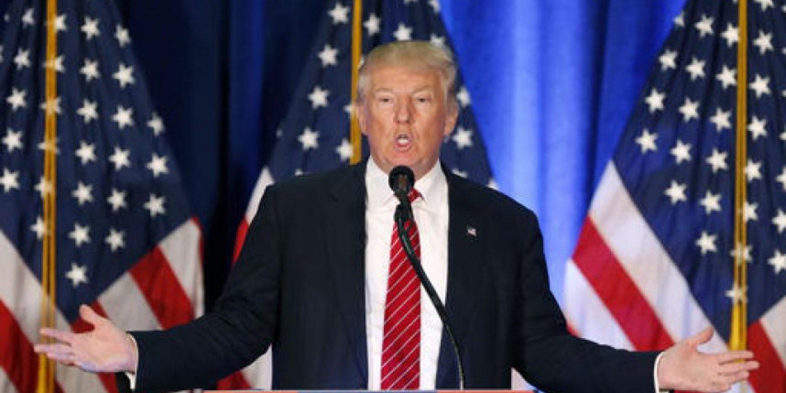La forma de ser de Trump ha causado estragos dentro de su partido, pues ya varios miembros de este han declarado que no votarán por él y que están en contra de su nominación. Foto:AP/ Archivo. Imagen Por: Gettyimages