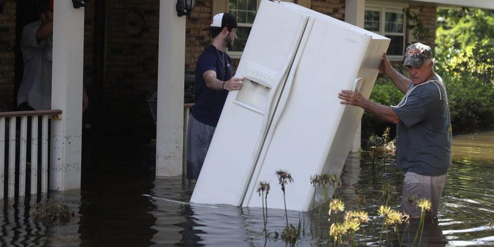Las lluvias en Louisiana han afectado a miles de personas que han perdido sus hogares. Foto:Gettyimages