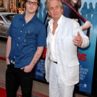 Con su padre, en 2009. Foto:Getty Images