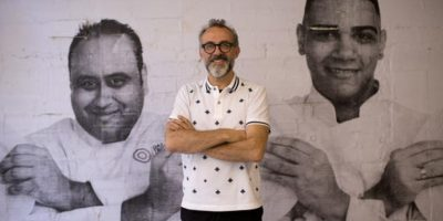 Él es Massimo Bottura, uno de los mejores chefs del mundo Foto:AP