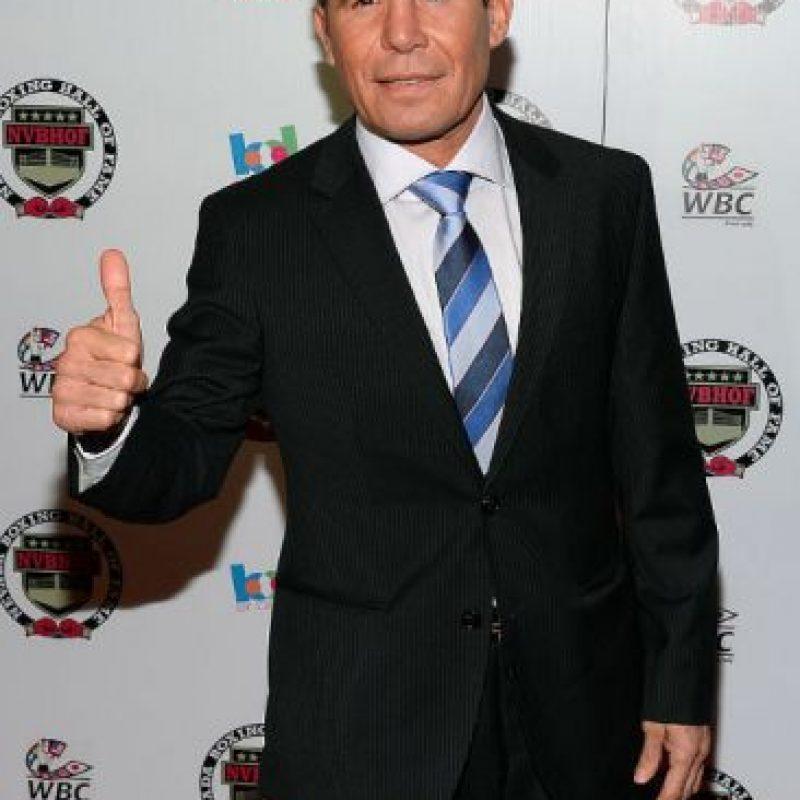 Julio César Chávez envía mensaje al boxeador Misael Rodríguez Foto:Getty Images