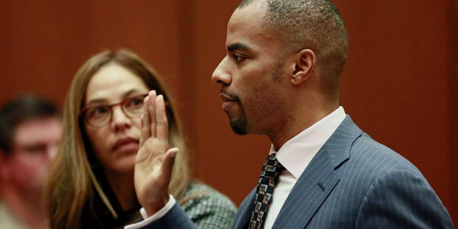Darren Sharper fue sentenciado a 18 años de cárcel Foto:Getty Images