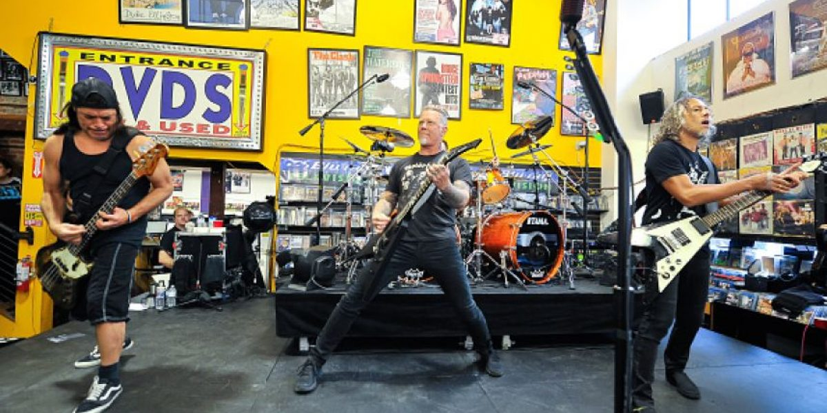 Metallica presentará nuevo disco