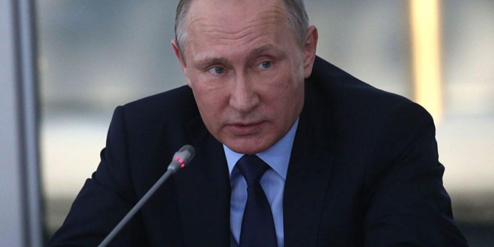 """""""No tenemos intención de romper las relaciones"""", dijo Putin durante la reunión del Consejo de Seguridad de Rusia en el puerto de Sebastópol. Foto:Getty Images/ Archivo"""