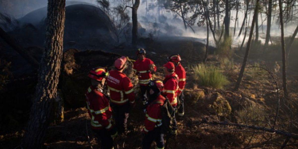 Se incendia campamento en Francia, desalojan a mil 500 personas