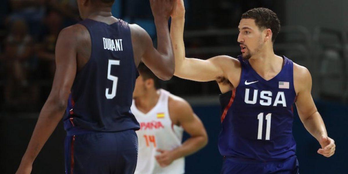 Estados Unidos vence a España y alcanza su tercera final olímpica