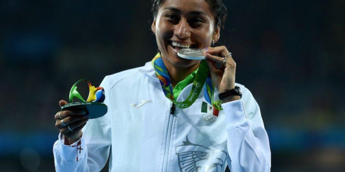 ¡Histórico! Lupita González gana plata en marcha 20 km en Rio 2016