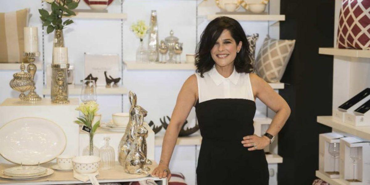 Martha Debayle inaugura su colección de productos para el hogar