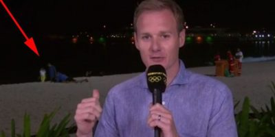 El incómodo momento que se vio en la televisión británica Foto:Twitter.com/BBCSport