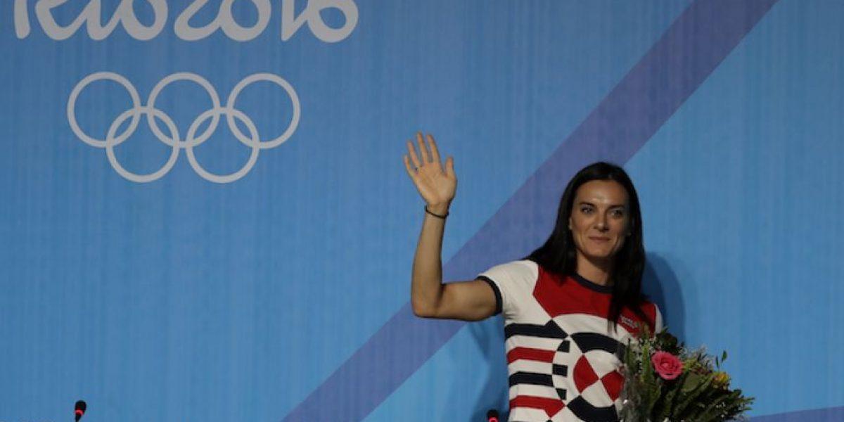 ¡Adiós! Yelena Isinbáyeva anuncia su retiro del atletismo