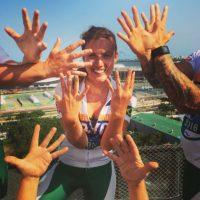 Charlie Webster, la periodista deportiva que lucha por su vida en Juegos Olímpicos Foto:Twitter