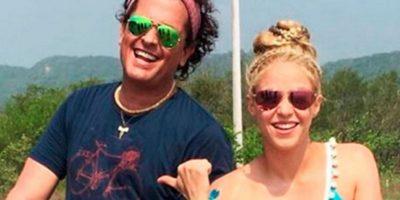 Y con Shakira comparte un recorrido por su natal costa Caribe colombiana. Foto:Instagram