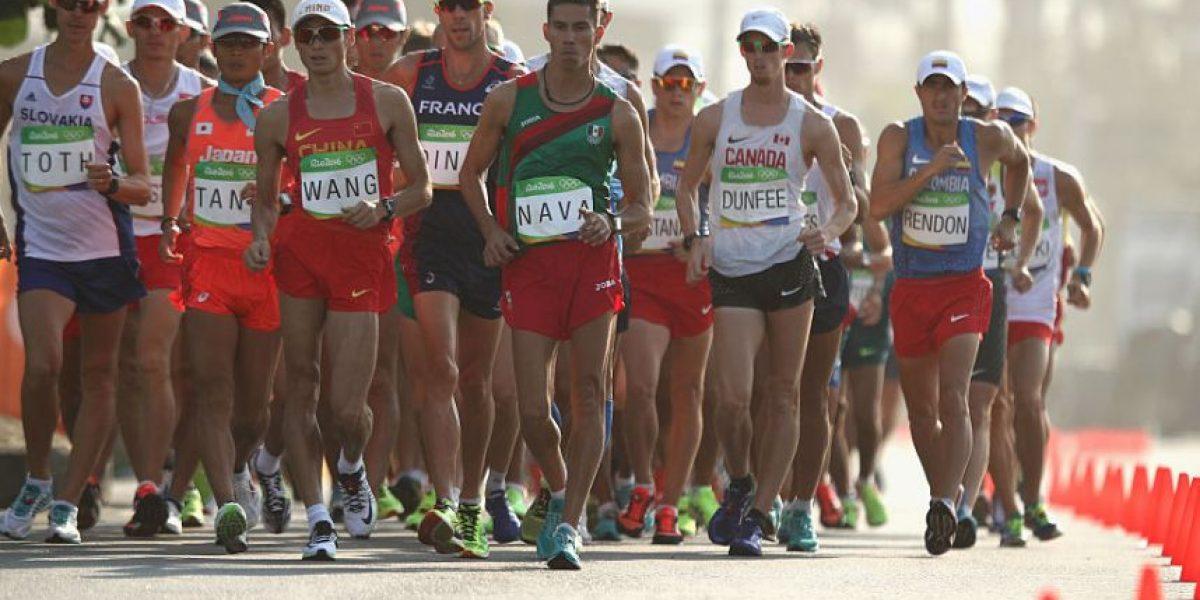 Los mexicanos terminaron muy lejos de la pelea por las medallas en 50kms